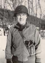 General Paul Baade during the Battle of the Bulge